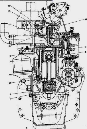 Купить Система охлаждения двигателя Д-240 в Минске.