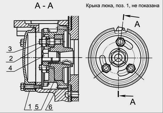 насоса ТНВД двигателя Д-