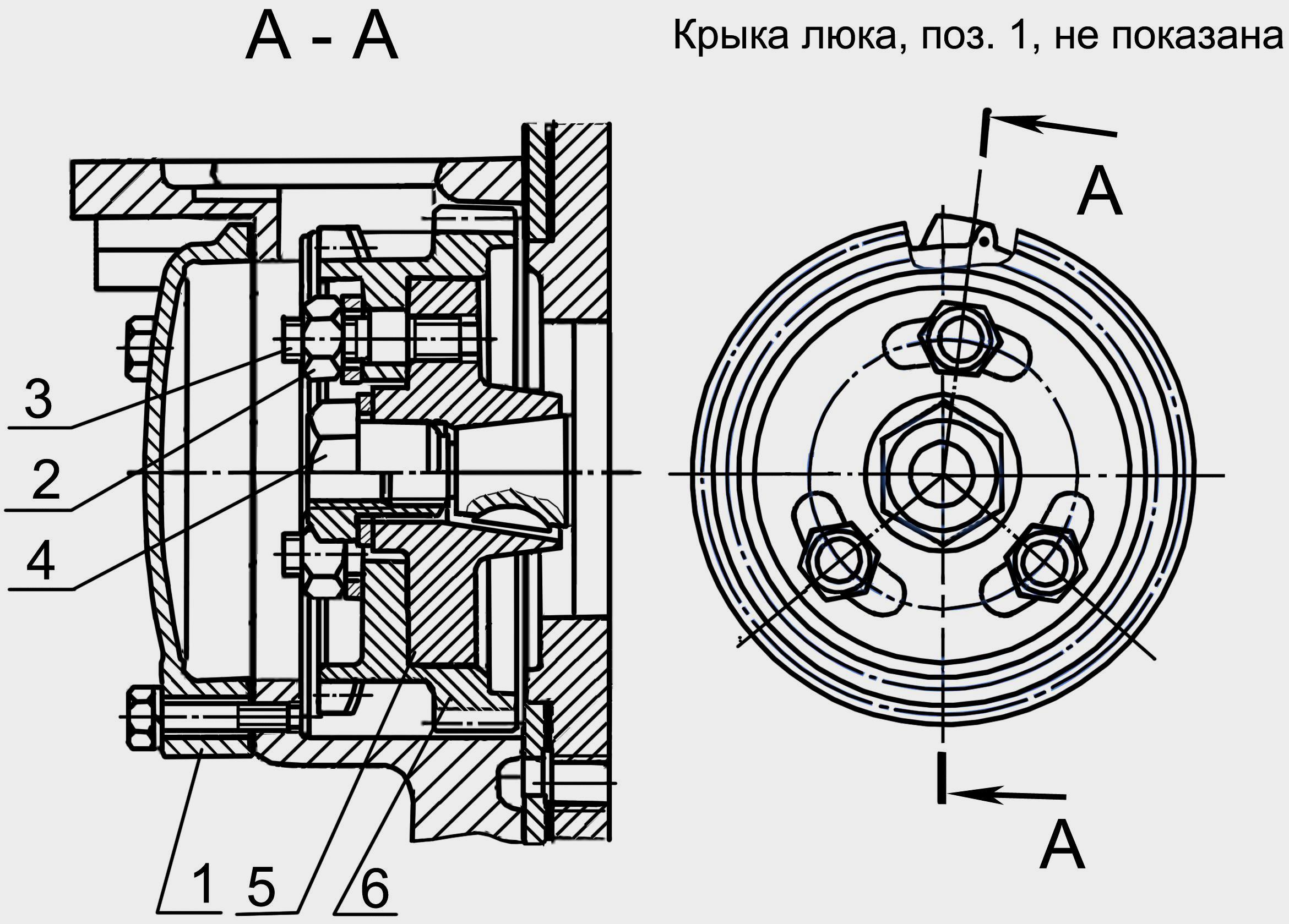 схема топливный насос дизеля ямз 240