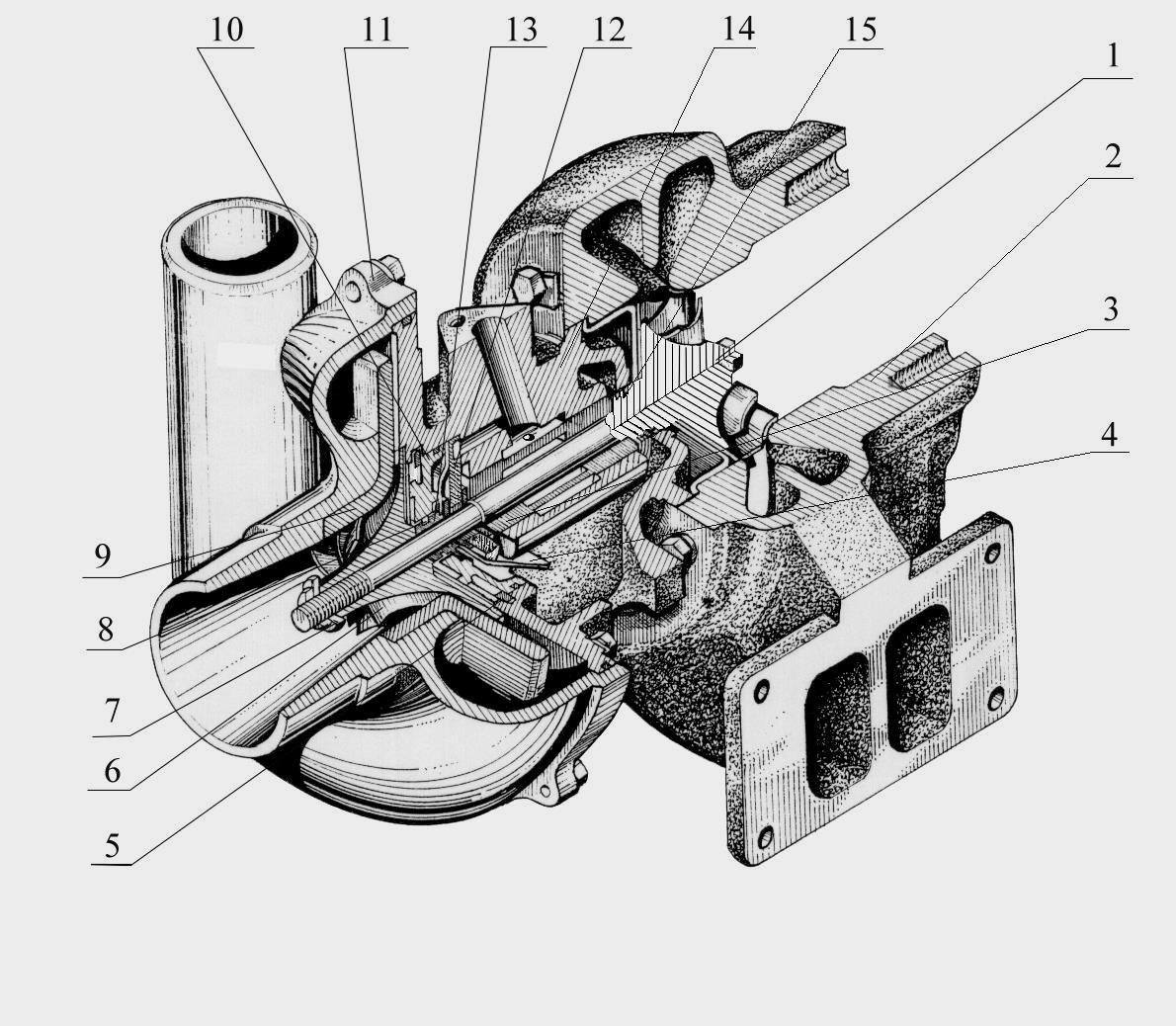 паливна система дизельного двигуна схема