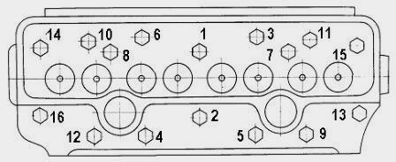 Схема протяжки головки ямз 238 фото 952
